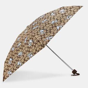 Coach x Peanuts Snoopy Signature MINI Umbrella